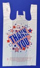 T-shirt thank you plastic bag