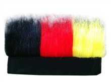 Custom football fan headband wig jumbo braid