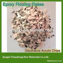 Popular Beautiful Surface Granite Chips concrete floor finish