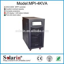4KVA solar home system mppt solar inverte controller 12v 24v 48v auto work for solar system