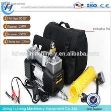Portable auto car tyre air compressor pump