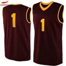 Latest High Quality basketball uniform design Oem Custom basketball jerseys