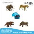 Venta al por mayor ukenn bricolaje jugueteseducativos 3d de plástico no- tóxico de los animales juguetes modelo