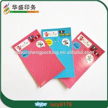 2014 Fashion Paper Hang Tag For Garments