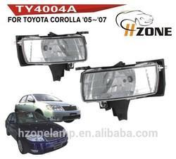 HZONE Fog Light Repalcement For Toyota Corolla 2005 2006 2007 Fog Light