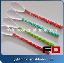 Plastic mold development and plastic spoon mold spoon spoon tableware mold