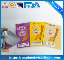 Customized cigar wraps plastic bags for sale/back