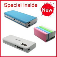 2014 hot sale accept paypal good quality 12000mah lcd external power bank battery charger