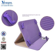 Veaqee 2015 hot selling tri-folding stand case for ipad mini