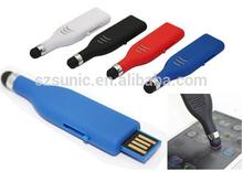 touch pen usb flash drive 2g 4g 8g,custom stylus usb touch pen, corporate gifts usb pen