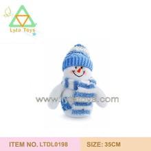 Very Soft Cute Plush Snowman Doll
