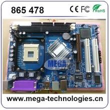 Hot selling special designed support Intel 478 chipset 865 DDR2 motherboard for desktop