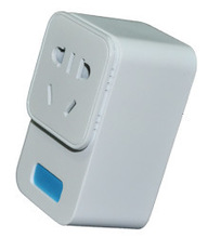simple application with CE approval remote wireless z-wave smart plug socket