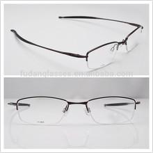 Fashion Optical Frames for Men Half-rim Eyeglasses Frame Jackknife 4.0 4Colors Instock Titanium Eyewear