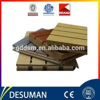 Sound insulation mdf v groove panel