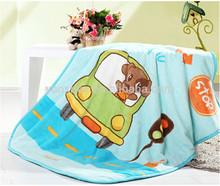 Soft plush animal baby blanket 75*100cm, 100*120cm