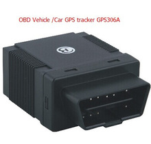 model 306A OBD gps tracker with plug an play interface