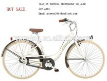 Hot sale steel cheap city bike for women