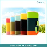 For samsung galaxy note 3 case factory wholesale hybrid wallet stand fashion design