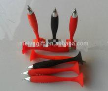 Promotional silicone ballpoint pen / advertising ballpoint pen with silicone suction cup for promotion