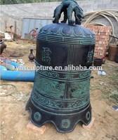 Temple decoration antique bronze bell
