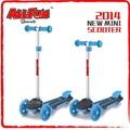 çocuklar 3 tekerlekli mini scooter pedalı