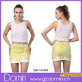 2014 senhoras chegada nova sequin mini saia para as mulheres