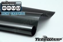 Light Gracphite VLT 20 % Light Green side window tint foil, car window solar film 1.52x30M (X4000)