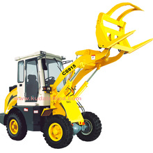 mini front wheel loader(CS915 mini Wheel loader with CE,1.5tons loader with EPA engine)