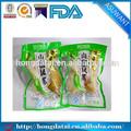 grau alimentício impressos personalizados sacos de vácuo da embalagem de alimentos
