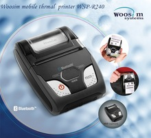 Woosim portable thermo printer android WSP-R240 made in Korea
