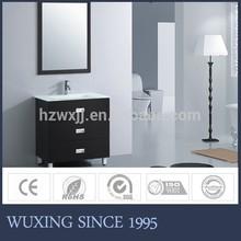 Black Color Wooden Bathroom Furniture