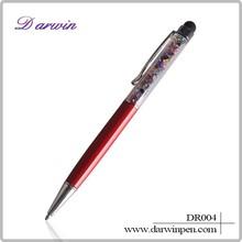 Promotional pen crystal diamond stylus pen touch pen