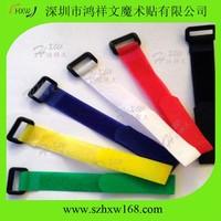 Eco-Friendly custom printed adjustable Hook And Loop watch strap