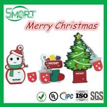 promotional usb flash drive, Christmas gift cartoon character usb flash drive 1g 2g 4g 8g 16g 32g 64g