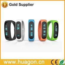 Bluetooth Sport Bracelet for men smart band E02 For IOS Android black