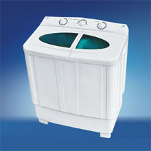 Hot 4kg capacity semi-auto laundry washing machine with drainage pump oem china supplier canton fair booth:1.2C 17 18 19