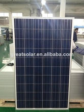 A-grade cell 250w poly solar panel with skillful manufature in China