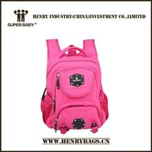 2015 Fashion Design Stylish Shool Backpack for Girls