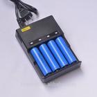 4 slot LED Intelligent battery charger for 18650 18350