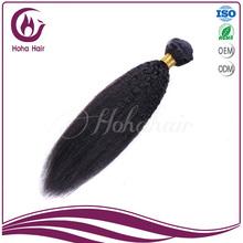 wholesale remy perm brazilian coarse yaki hair weave