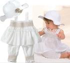 Beutiful girls summer jump suit chiffon baby romper one piece children's girls dress(M40209A)