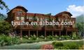 Holz-kunststoff-garten Häuser von ruihe wpc