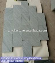 good pattern honed green sandstone