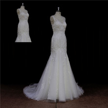 customized sparkle crystal vintage lace wedding dress 2012