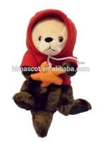 HI CE hot custom plush toy, plush sea otter toys sea animal plush toys