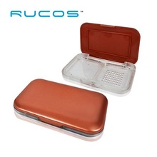 Cosmetic Packaging Plastic Clear Pressed Powder Case