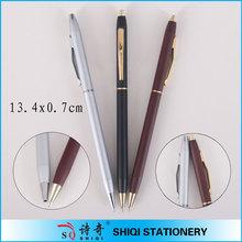high quality twist hotel metal ball pen