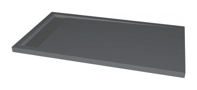 Grey Quartz Stone Grey Color Shower Tray Quartz