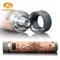 2015 mais recente invenção produtos de madeira vaporizador mod 20 w mod 20 watt 18650 vamo fogo